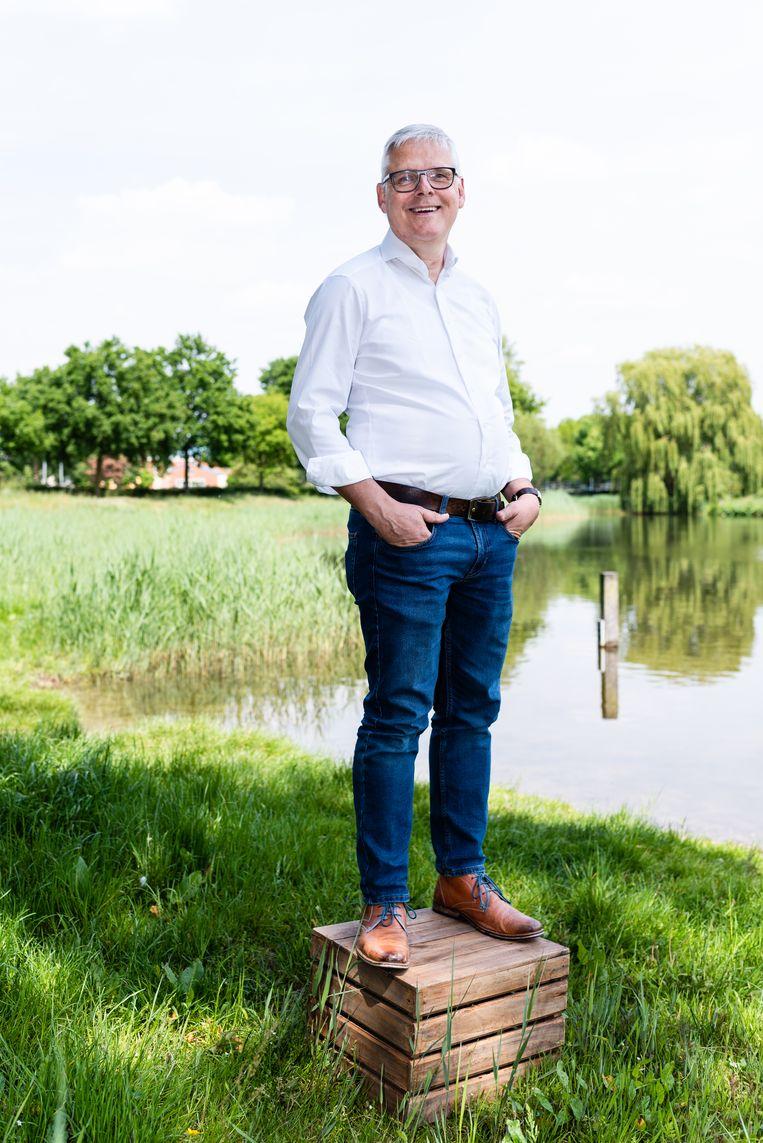 Tim Hoogenbosch (61). Beeld Katja Poelwijk