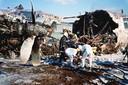 Pas nadat de Hercules was opengebroken werd duidelijk dat er geen vier, maar 41 slachtoffers in het toestel zaten.