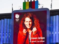 Molen vol met medailles voor huldiging Ireen Wüst
