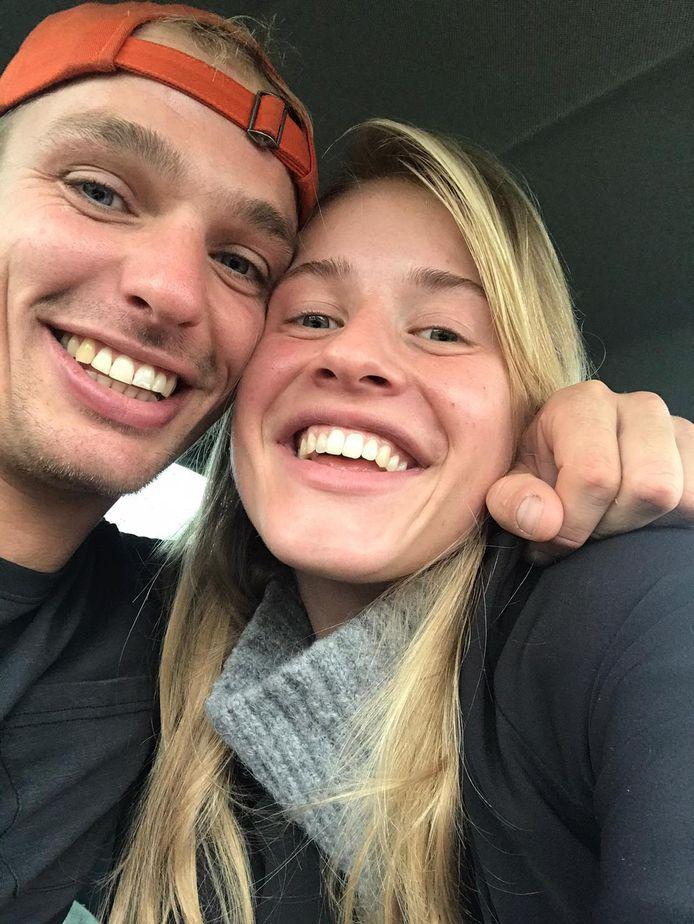 Simone en Martijn waren nog maar pas samen en ontzettend dol op elkaar.