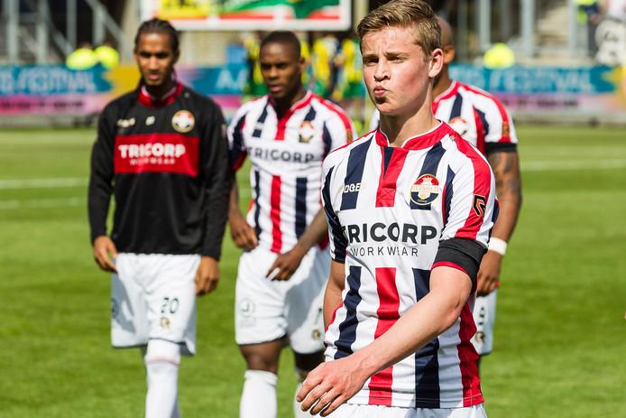 Frenkie de Jong in het verleden als Willem II'er.
