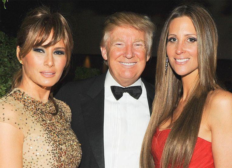 Stephanie Winston Wolkoff met de Trumps in betere tijden: tijdens het Met Gala in 2011.