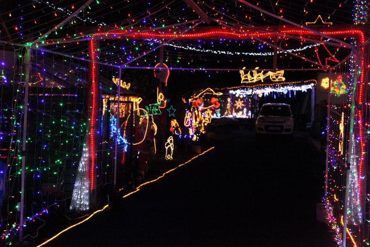 Kersthuis in Lauwe, Menen. Waterstraat 100, 8930 Menen.
