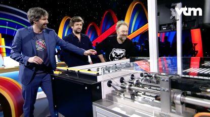 PREVIEW. Tom Helsen en Henk Rijckaert spelen tegen een robot... en verliezen
