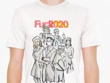 Un T-shirt Fuckyou2020 vendu au profit des sans-abris