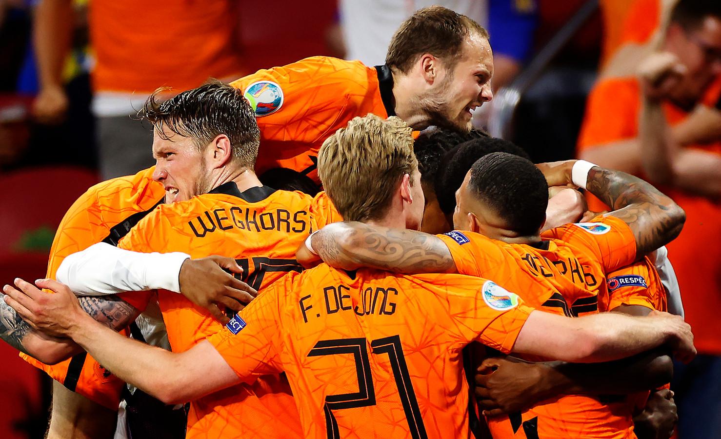 Donderdag treedt Oranje aan tegen Oostenrijk.