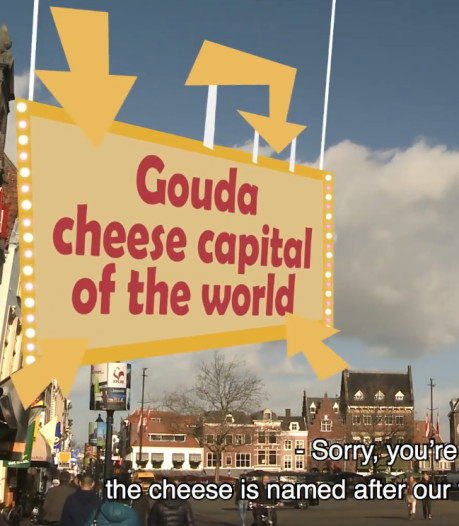 Cheese Experience deelt Gouda's trots in 'cheesy' video