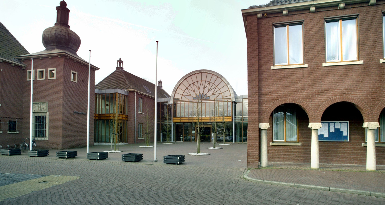 Het gemeentehuis in Heeze.