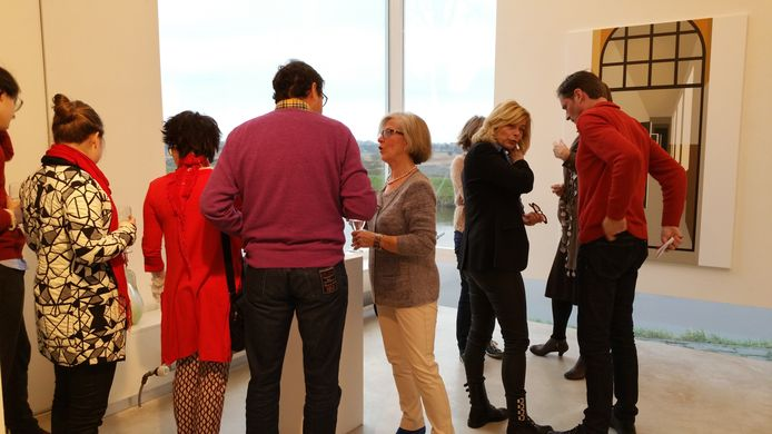 Tentoonstelling bij Jan van Hoof galerie in Den Bosch.