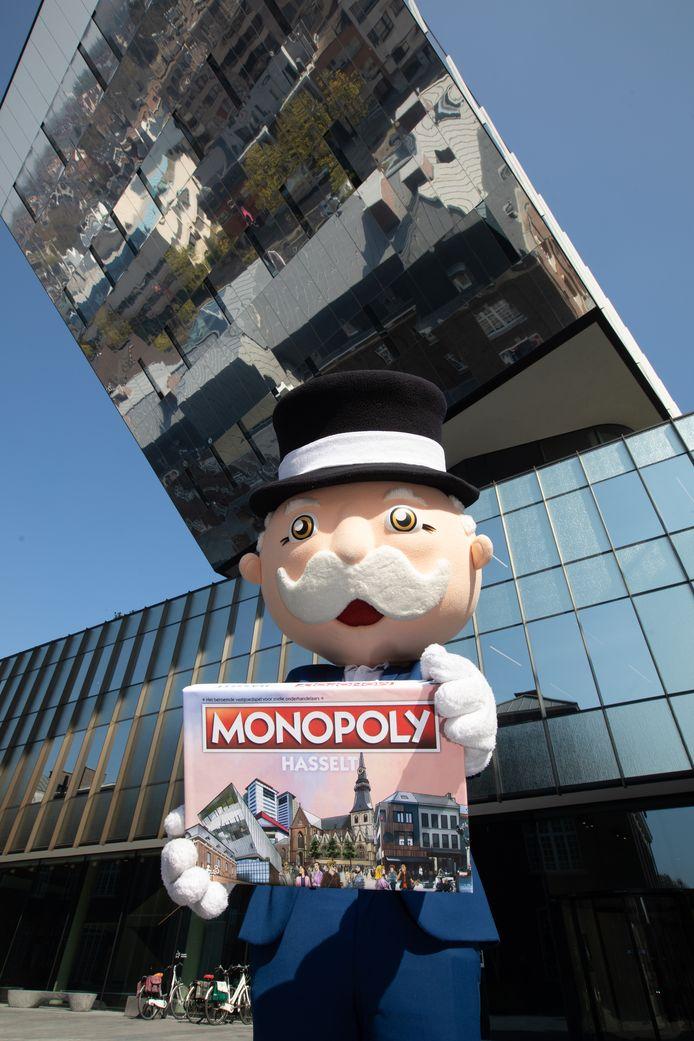 Vanaf november kunnen alle Hasselaren en liefhebbers het Monopolyspelbord zelf uittesten.