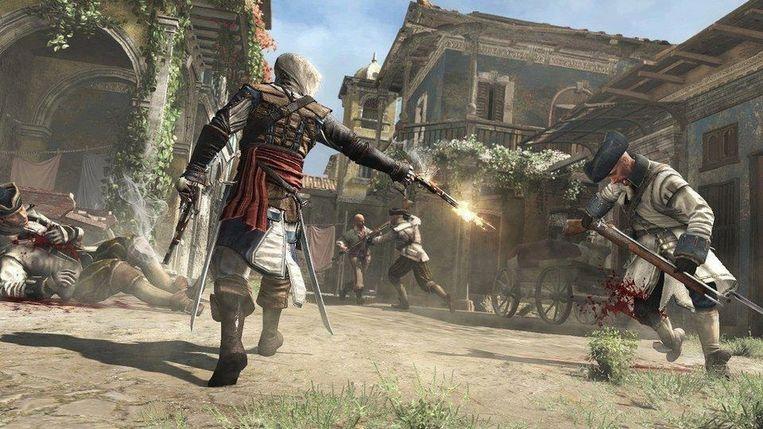 'Assassin's Creed IV' is een mooi voorbeeld van een game waarin upgrades belangrijk zijn: hoe beter u bent uitgerust, hoe makkelijker de gevechten worden. Beeld Ubisoft