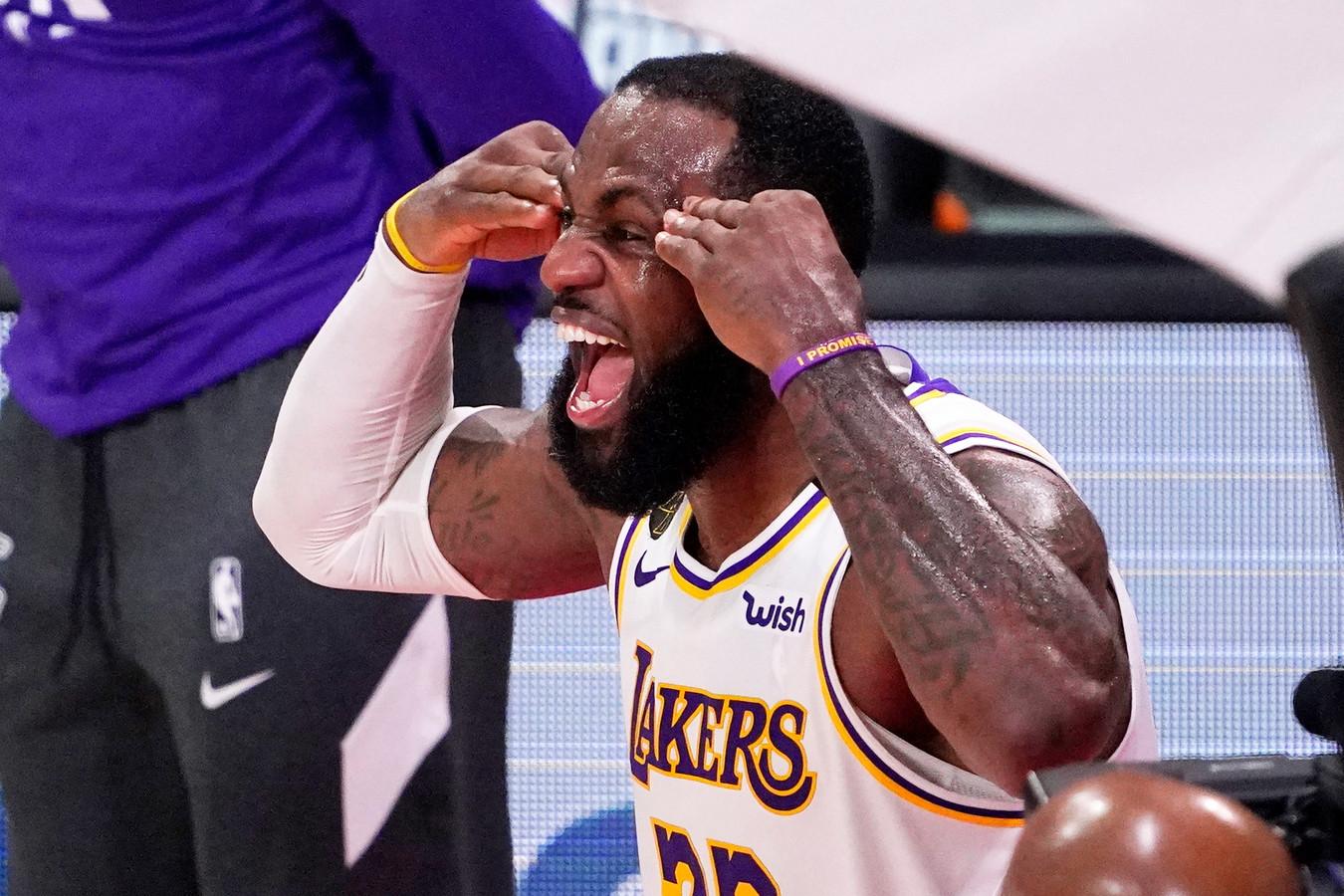 LeBron James won vorige maand zijn vierde kampioenschapsring.