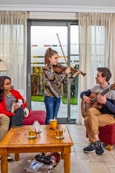 Adinda (12) en haar broer Matthijs (15) zijn muzikale wonderkinderen, maar 'het zit niet in de familie'
