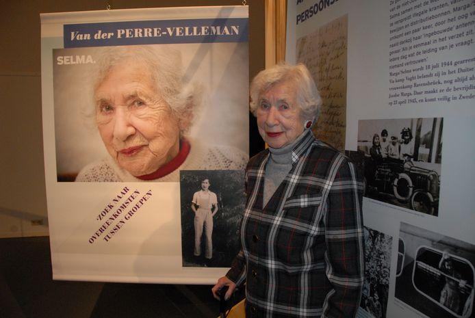 Selma van der Perre, tweemaal in beeld