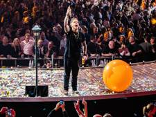 André Hazes geeft concert op Unnaplein in Waalwijk