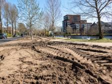 Populaire grasveldjes Piushaven al omgeploegd: 'Heel kortzichtig'
