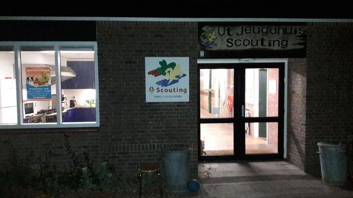 De scouting waar de kinderen verblijven.