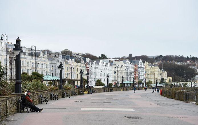 Archiefbeeld uit Douglas, de hoofdstad van Isle of Man.