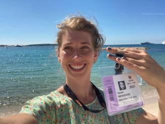 """Sarah Menheere tekende voorbije weekend present op Filmfestival van Cannes: """"Deze nominatie was kers op de taart in mijn tekencarrière"""""""