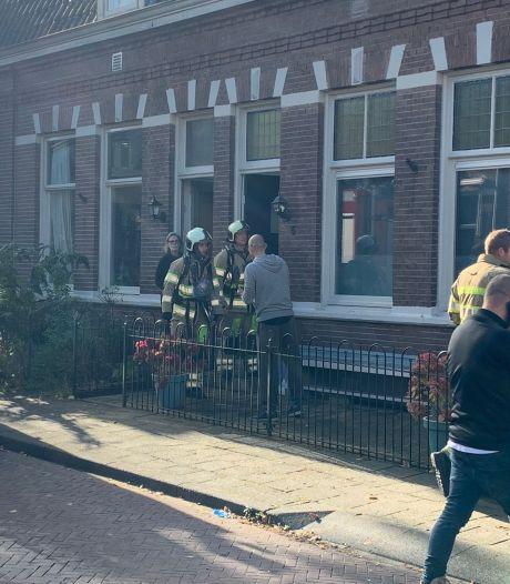 Brandweer rukt uit voor gaslekkage na graafwerkzaamheden Amersfoort