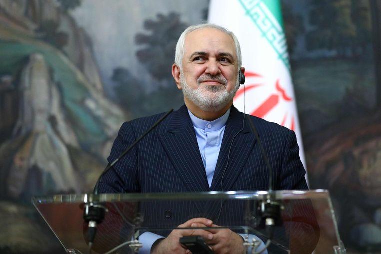 Dat heeft de Iraanse minister van Buitenlandse Zaken, Mohammad Javad Zarif. Beeld AFP