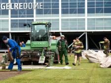 Gloednieuwe grasmat voor Vitesse in aanloop naar halve finale KNVB-Beker