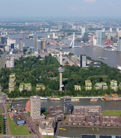 Ruim 5000 euro opgehaald voor juridische strijd tegen omstreden bouw van acht woontorens bij Euromast