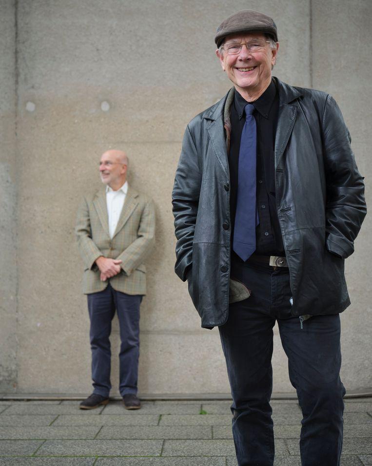Ab Osterhaus (rechts): 'De zachte aanpak heeft voor een hoop extra last gezorgd.' Beeld Erik Smits
