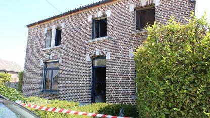 Gezin van vier verliest huis in brand
