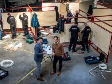 Schilders komen de winter door als installatiemonteur dankzij opleiding in Helmond