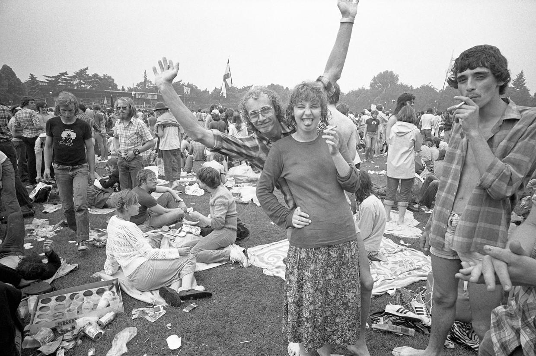 De tiende editie van Pinkpop in Geleen, op 4 juni 1979.