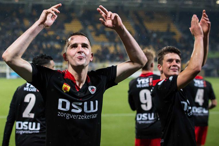 Excelsior wint van Roda JC. Beeld anp