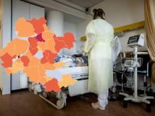 KAART | Minder nieuwe coronagevallen in Flevoland en Gelderland: drie gemeenten op nul