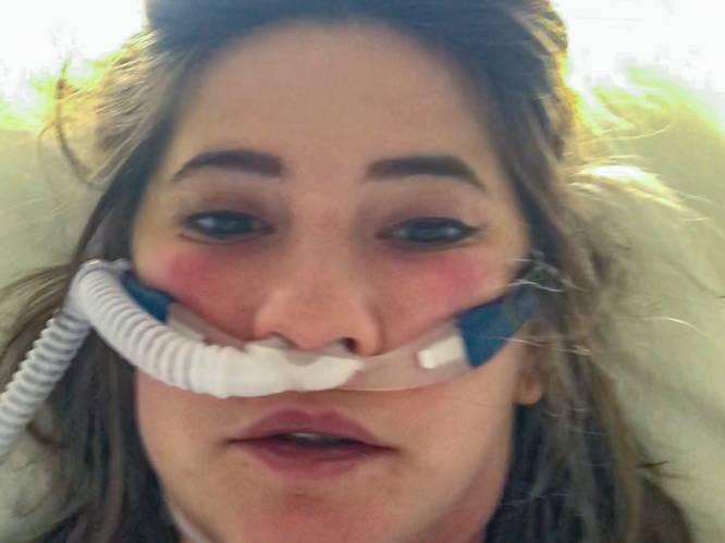 """Gwendoline (28) vocht wekenlang tegen corona op Intensieve Zorg: """"Mijn hart brak toen ik patiënten afscheid hoorde nemen van hun dierbaren"""""""