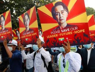 Militaire junta in Myanmar wil partij van Aung San Suu Kyi ontbinden