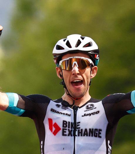 Simon Yates s'impose en solitaire au sommet de l'Alpe di Mera, Bernal limite la casse