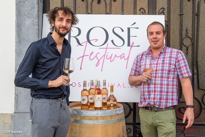 Frederik De Swaef en Michiel De Gendt van Rosé Festival.