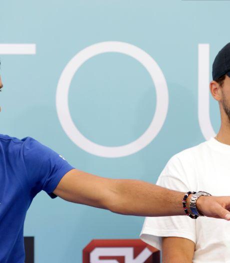 Bij toernooi Djokovic besmette Dimitrov is verlost van corona