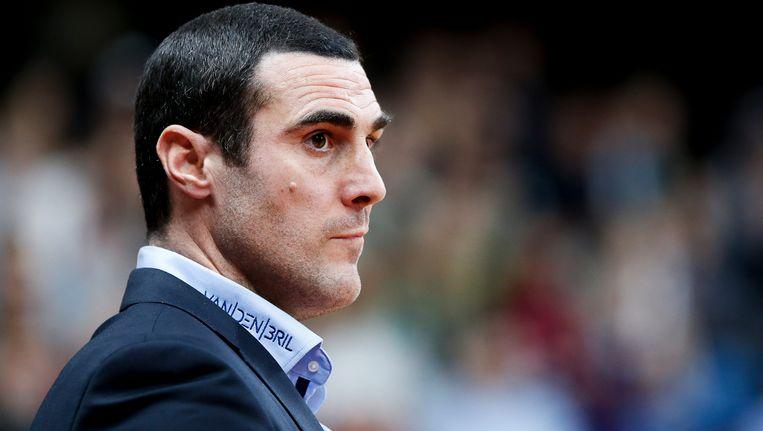 Roel Moors, de coach van de Antwerp Giants. Beeld BELGA