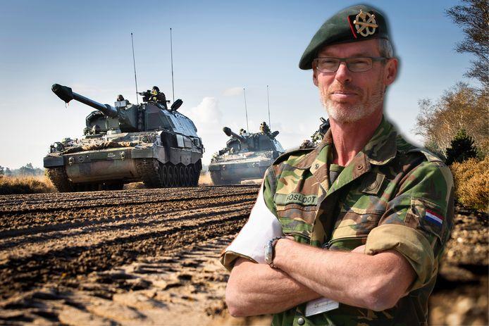 Majoor Eric Rosloot, hoofd beveiliging van het ASK.