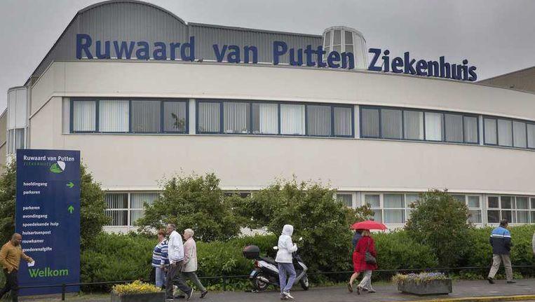 Het ziekenhuis in Spijkernisse. Beeld anp