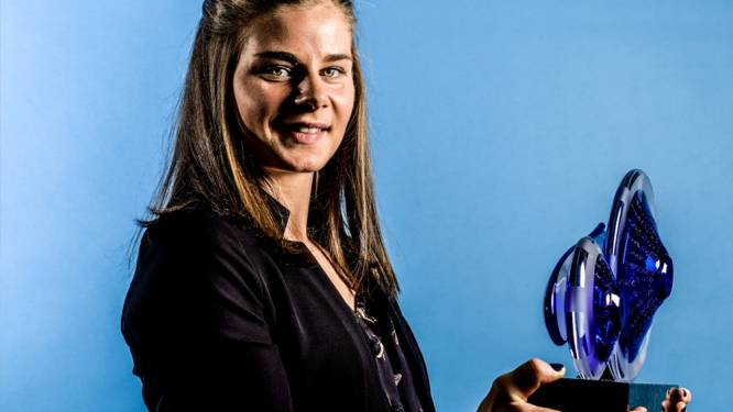 Lotte Kopecky wint voor het eerst in haar carrière de Kristallen Fiets
