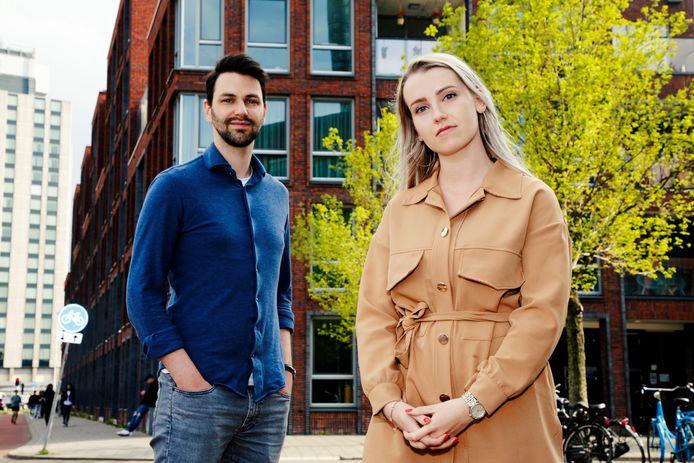 Charlotte en Michiel hebben slechte ervaringen met makelaar bij het zoeken naar een (huur)woning.