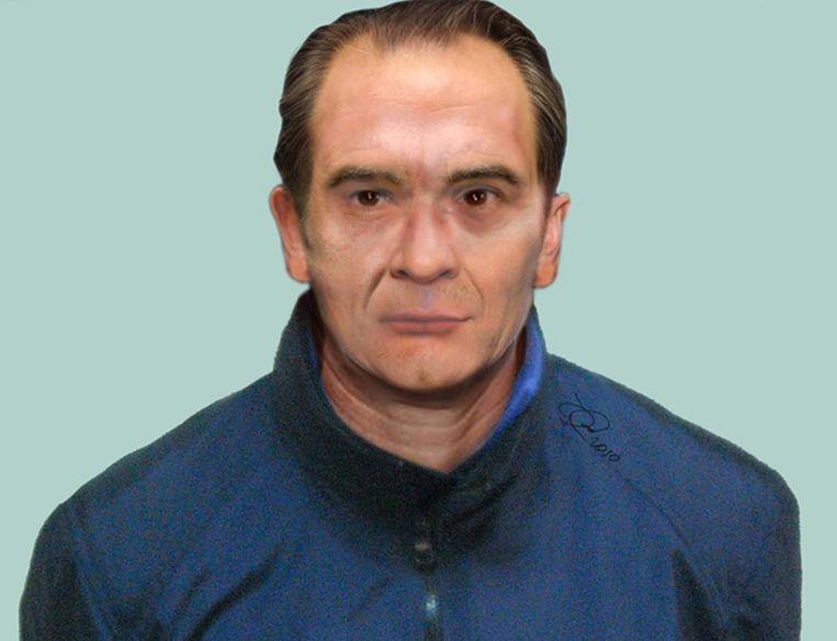 Zo ziet maffiabaas Messina Denaro er tegenwoordig uit, vermoedt de Italiaanse politie.  Beeld EPA