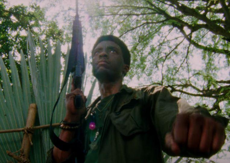 Chadwick Boseman in 'Da 5 Bloods'.  Beeld Netflix