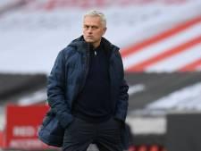 Mourinho stoort zich aan spottend Arsenal: 'Ze hebben zelf niet veel te vieren'