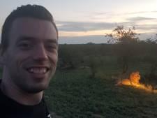 Mark werd gebeten door een zwarte mamba: 'Wonder dat ik nog leef'