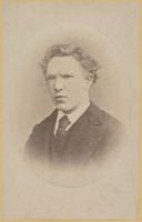 Foto van een 19-jarige Vincent van Gogh, de enige goede portretfoto die van hem bekend is