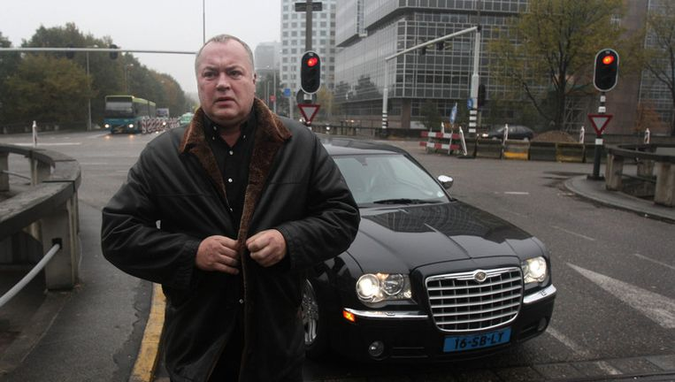 In elk geval de eis van Willem van Boxtel (op foto in 2007), voormalig voorzitter van de Amsterdamse Hells Angels, heeft de rechter afgewezen. Foto ANP Beeld