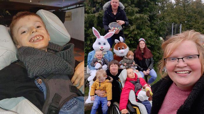 De familie van Kenzo Hoefkens roept op om zoveel mogelijk verjaardagkaartjes te sturen voor zijn 15de verjaardag.